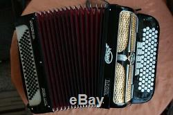 Adria Accordion C-system, 96 Basses, 3 rows of reeds LMM, good condition