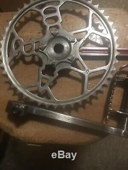 Antique/vintage BSA Bicycle Pedals And Crank System in Very Good Condition