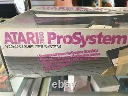 Atari 7800 Pro System Console Boxed TESTED VERY GOOD SHAPE! FAST SHIPPING