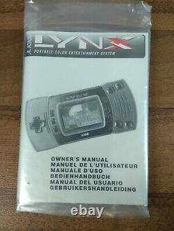 Atari Lynx Boxed Console Good Cosmetic Condition Read Desc