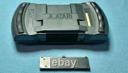 Atari Lynx Model 2 Console boxed 4 games original adapter good condition