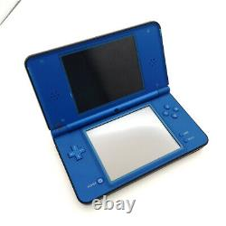 Blue Refurbished Nintendo NDSi XL Handheld Console System -Good Condition