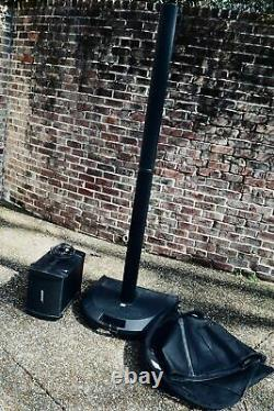 Bose L1 PA tower speaker system in good condition with B1 sub, bags