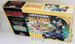 Boxed Super Nintendo Snes, Mario Allstars, Good Condition