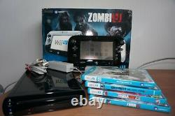Boxed Wii U = Zombi U premium pack with extra Games in Very Good Condition