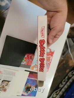 Bubble Bobble (Nintendo Entertainment System, 1988) CIB very good condition