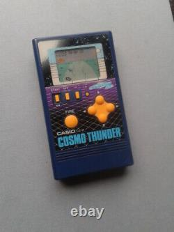 Casio Game&watch Cosmo Thunder Cg-81 Complete In Box Cib Very Good Condition