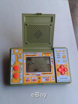 Casio Game&watch LCD Battle Field Cg-440 Full Working Very Good Condition Rare+