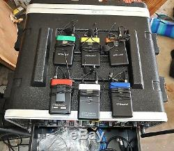 Custom Gtd 6 X 800 Wireless Microphone System Complete Very Good Condition