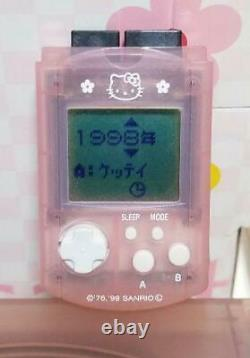 Dreamcast Hello Kitty Pink Console Keyboard Very Good JPN Tested Great Condition