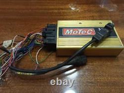 Engine ECU control system Motec M48 open all functions, in good condition