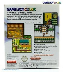 GameBoy Color console #purple/Purple/Grape CIB, boxed very good condition