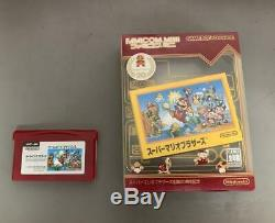 GameBoy Micro Famicom Game Boy JAPAN GOOD condition + BOX + 1 game included