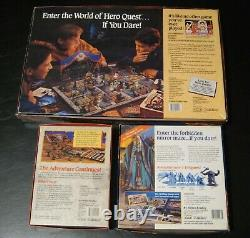 Hero Quest Game System withElf Quest Pack & Keller's Keep-Good to new condition