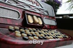 Hohner Riviera II Accordion C-System, 96 Basses, vintage 1977, good condition