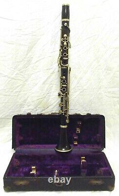 Improved Albert System Wood Bb Clarinet in Good Condition c1900 Make an Offer