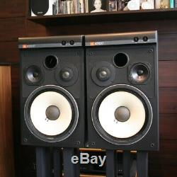 JBL 4312XP Speaker System Pair Black Good Condition Free Shipping d683