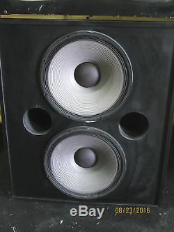 JBL ScreenArray 4632 3 Way Tri Amplified Cinema Loudspeaker System Good Shape