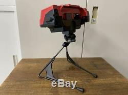 JUNK Nintendo Virtual Boy Console controller AC adapter Good condition red