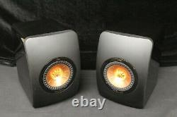 KEF LS50 Active Music System Black Very Good Condition