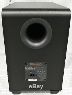 Klipsch Reference RSB-11 2.1 Channel Soundbar System withSubwoofer Good Shape