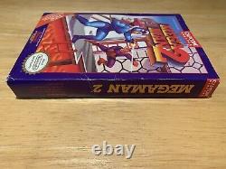 Mega Man 2 Nintendo Entertainment System NES CIB Very Good Condition Box