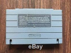 Metal Warriors (Super Nintendo Entertainment System, 1995) SNES Good Condition