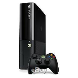 Microsoft Xbox 360 E 500GB Black Console Good Condition COMPLETE