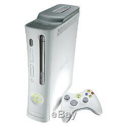 Microsoft Xbox 360 Premium 20 GB White Console Very Good Condition