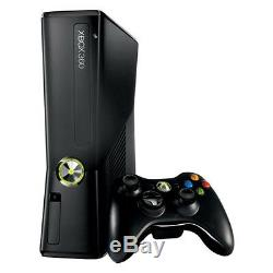 Microsoft Xbox 360 Slim 320 GB Black Console Very Good Condition