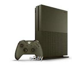 Microsoft Xbox One S Battlefield 1 Military Green Edition Very Good Condition