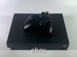 Microsoft Xbox One X 1TB Black Console GOOD CONDITION WORKS PERFECTLY