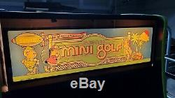 Mini Golf Arcade Game Bally Sente System Working Good Condition
