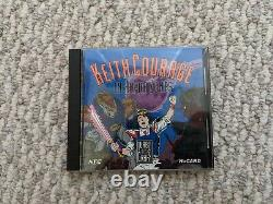 NEC TurboGrafx-16 Console Complete in Box with Keith Courage Very Good Condition