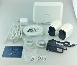 NETGEAR Arlo Pro 720p Security Camera System 2 Pack Good Shape