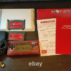 NINTENDO Game Boy Micro Mother 3 Deluxe Box From Japan F/S good condition