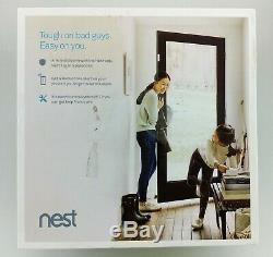 Nest H1500ES Secure Alarm System Starter Pack White In Box Good Shape