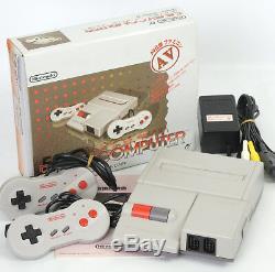 New Famicom AV Console System Ref/HN10940428 Boxed Good Condition Nintendo FC