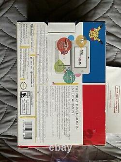 New Nintendo 3DS Pokemon 20th Anniversary Console CIB Very Good Condition