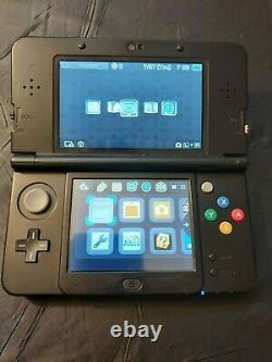 New Nintendo 3DS Super Mario Black Edition tested works great good condition