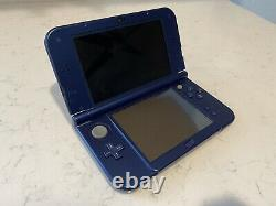 New Nintendo 3DS XL Galaxy Edition + Charging Cable GOOD CONDITION