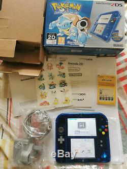 Nintendo 2ds Pokemon Blue Special Edition Very Good Condition Fully Boxed