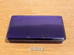 Nintendo 3DS Purple / 64GB / 50+ Games / Very Good Condition