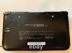 Nintendo 3DS XL Black Console Very good condition
