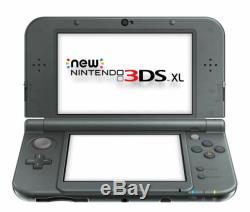 Nintendo 3DS XL Black Handheld System Very Good Condition