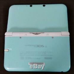 Nintendo 3DS XL LL Mint x White Console Good Condition NINTENDO Japan