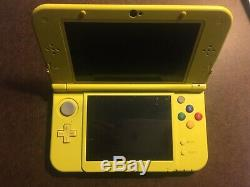 Nintendo 3DS XL Pikachu Yellow Edition Good Condition Charger Included