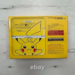 Nintendo 3DS XL Pokemon Pikachu Edition With Accessories Extremely Good Condition