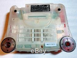 Nintendo 64 Console Boxed Clear Red Very Good Condition Serial Matching