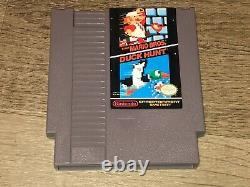 Nintendo Action Set Console System Nes Complete CIB Very Good Condition Mario